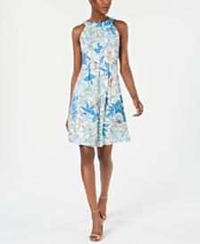 Pappagallo Hayden Floral A-Line Dress
