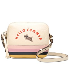 Radley London Hello Summer Leather Zip-Top Cross Body