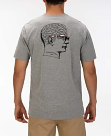 Hurley Men's The Thinker Log Graphic T-Shirt
