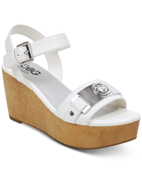 dcc2478818d3 G by GUESS Danna Platform Wedge Sandals   Reviews - Sandals   Flip ...
