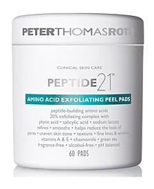 Peptide 21 Amino Acid Exfoliating Peel Pads, 60-Pk.