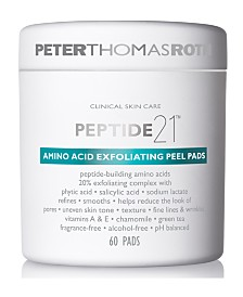 Peter Thomas Roth Peptide 21 Amino Acid Exfoliating Peel Pads, 60-Pk.