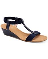 3bcf94504a Alfani Women's Step 'N Flex Voyage Wedge Sandals, Created for Macy's