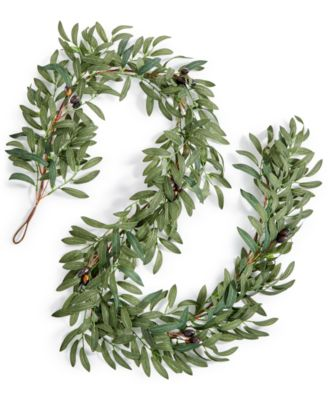 La Dolce Vita Olive Leaf Artificial Garland, Created for Macy's