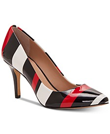 INC Women's Zitah Pointed Toe Pumps, Created for Macy's