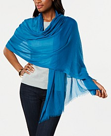 Solid Crinkle Wrap & Scarf