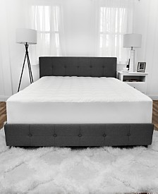 SensorGel Luxury Top Loft Gel Fiber Queen Mattress Pad