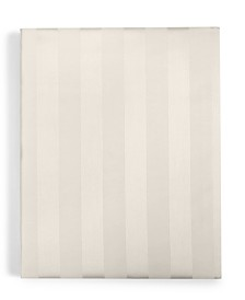 Charter Club Damask Ivory Stripe Twin XL Fitted Sheet, 550 Thread Count 100% Supima Cotton, Created for Macy's