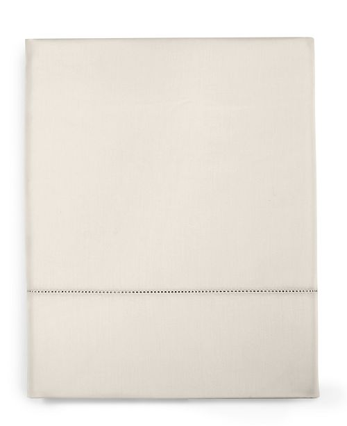 Charter Club  CLOSEOUT! Ivory Solid Queen Flat Sheet, 550 Thread Count 100% Supima Cotton, Created for Macy's