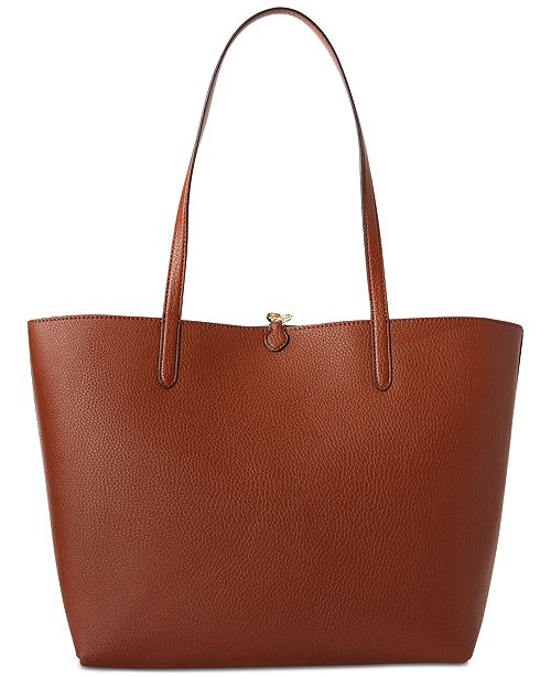 808adbfc81 Lauren Ralph Lauren Merrimack Reversible Faux Leather Tote   Reviews ...