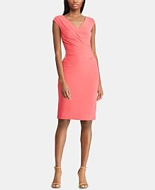 Lauren Ralph Lauren Petite Ruched Dress