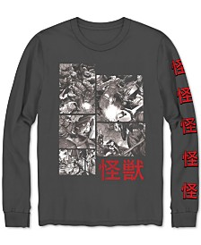 Avengers Kaiju Men's Long-Sleeve Graphic T-Shirt