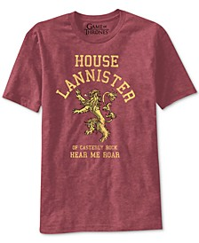Game of Thrones House Lannister Men's Graphic T-Shirt