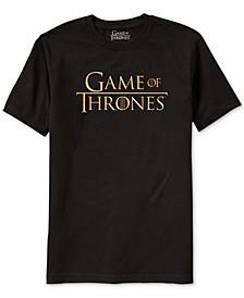 Game of Thrones Men's Logo T-Shirt