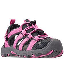 Bearpaw Little Girls' Memuru Cage Sandals from Finish Line