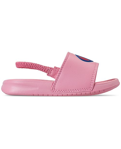 ac1ab4b39cc Champion Toddler Girls' Super Slide Sandals from Finish Line ...