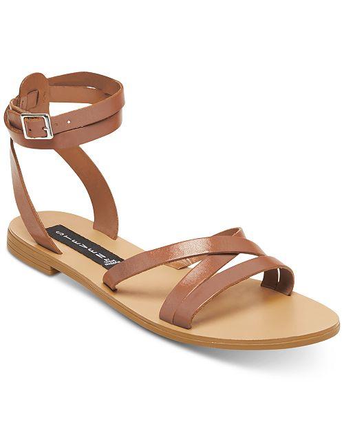 583d4312d190 STEVEN by Steve Madden Women s Matas Strappy Flat Sandals   Reviews ...