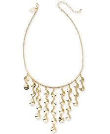 "Thalia Sodi Gold-Tone Statement Necklace, 16"" + 3"" extender, Created for Macy's"