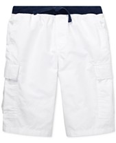 7c3367e94ac8 Polo Ralph Lauren Big Boys Cotton Pull-On Cargo Shorts