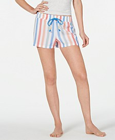 Printed Lightweight Pajama Shorts, Created for Macy's