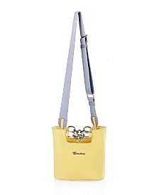 Milanblocks Yellow Genuine Memory Leather Bag by The Workshop at Macy's