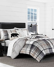 Eddie Bauer Normandy Plaid Comforter Set, Twin
