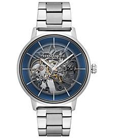 Men's Automatic Stainless Steel Bracelet Watch 41mm