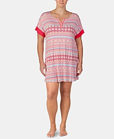 Printed Tunic Sleepshirt