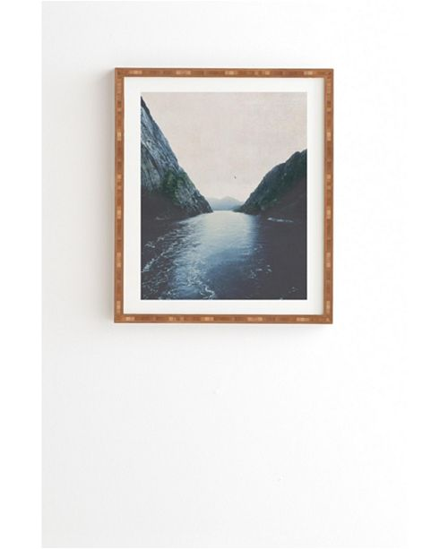 Deny Designs Finding Inner Peace Framed Wall Art