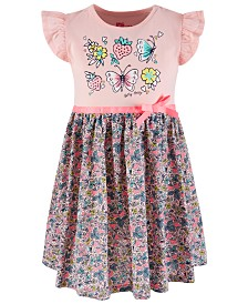 Epic Threads Little Girls Strawberry-Print Dress, Created for Macy's