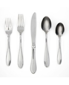 Cambridge Evanston Mirror 45-Piece Flatware Set with Chrome Buffet