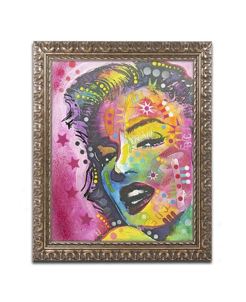 "Trademark Global Dean Russo '017' Ornate Framed Art - 14"" x 11"" x 0.5"""