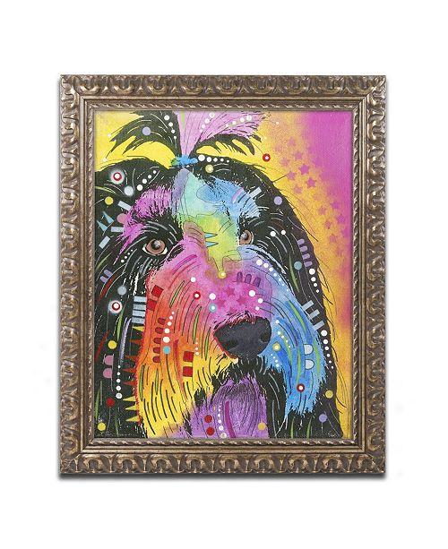 "Trademark Global Dean Russo 'Prissy' Ornate Framed Art - 14"" x 11"" x 0.5"""