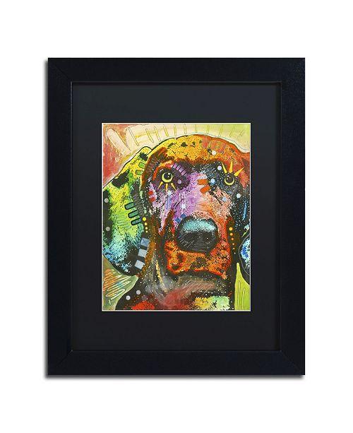 """Trademark Global Dean Russo '02' Matted Framed Art - 11"""" x 14"""" x 0.5"""""""