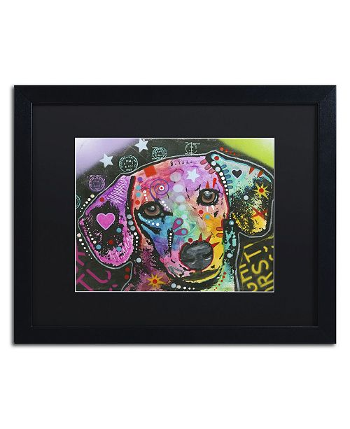 "Trademark Global Dean Russo '14' Matted Framed Art - 16"" x 20"" x 0.5"""
