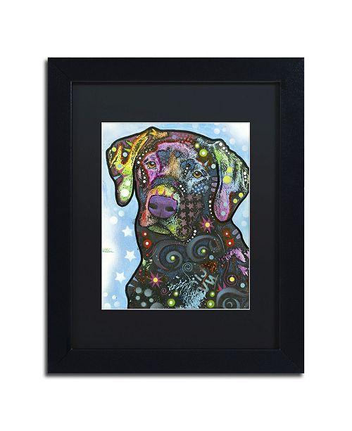 """Trademark Global Dean Russo '27' Matted Framed Art - 11"""" x 14"""" x 0.5"""""""