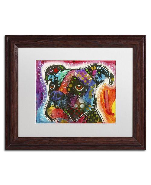 """Trademark Global Dean Russo '29' Matted Framed Art - 14"""" x 11"""" x 0.5"""""""