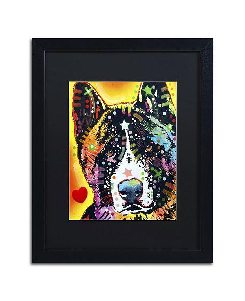 "Trademark Global Dean Russo 'Akita' Matted Framed Art - 16"" x 20"" x 0.5"""