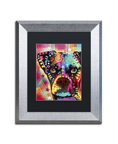 "Trademark Global Dean Russo 'Boxer Cubism' Matted Framed Art - 14"" x 11"" x 0.5"""