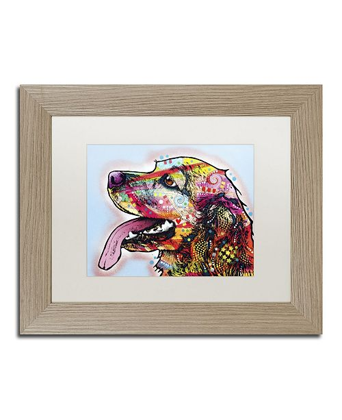 "Trademark Global Dean Russo 'Cocker Spaniel' Matted Framed Art - 14"" x 11"" x 0.5"""