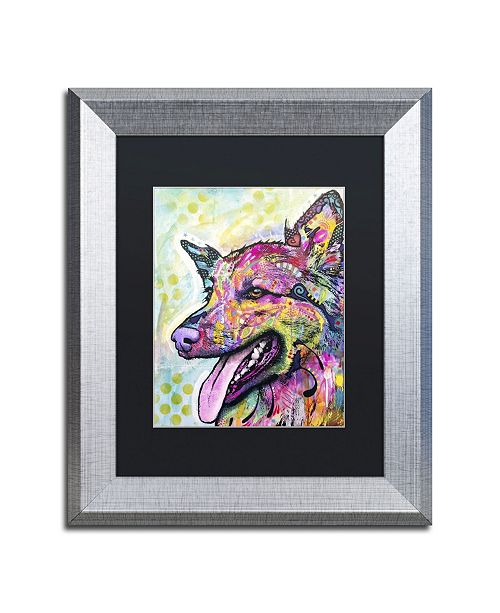 """Trademark Global Dean Russo 'All The Love' Matted Framed Art - 14"""" x 11"""" x 0.5"""""""