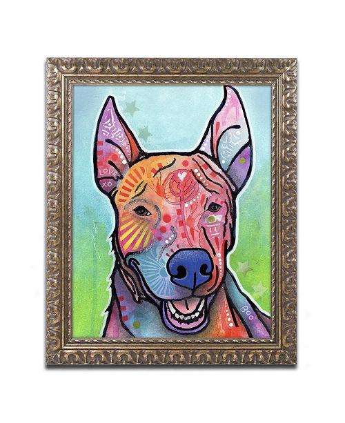 "Trademark Global Dean Russo 'Boo' Ornate Framed Art - 14"" x 11"" x 0.5"""