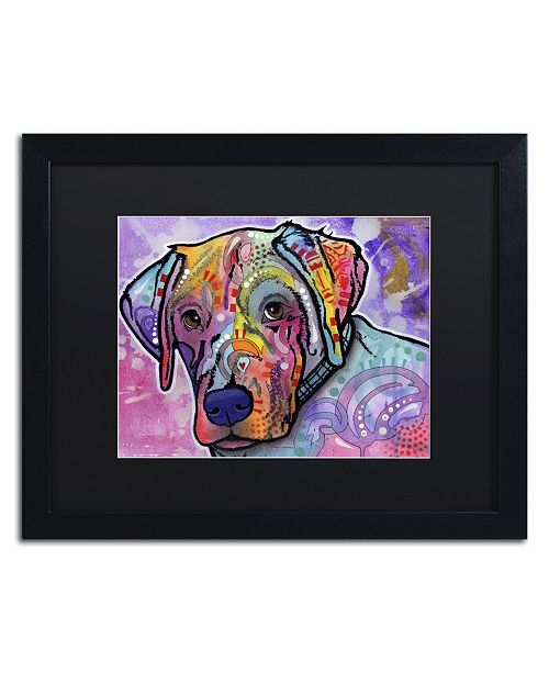 "Trademark Global Dean Russo 'Petunia' Matted Framed Art - 16"" x 20"" x 0.5"""
