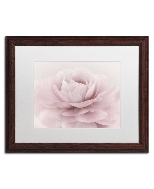 "Trademark Global Cora Niele 'Stylisch Rose Pink' Matted Framed Art - 20"" x 16"" x 0.5"""