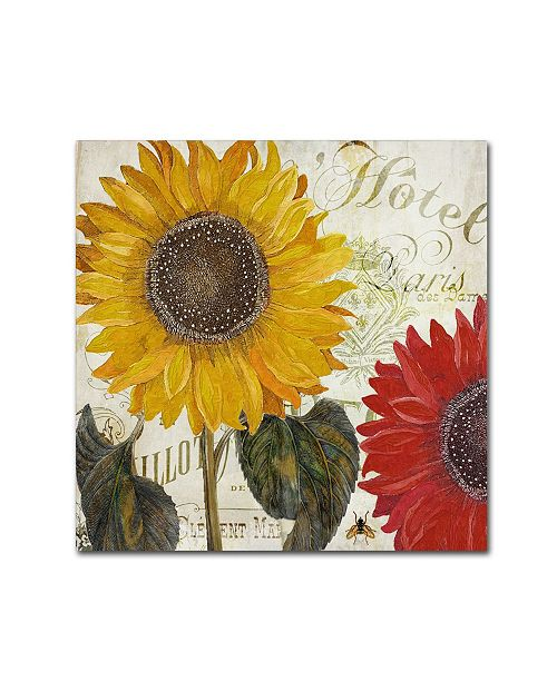 "Trademark Global Color Bakery 'Sundresses I' Canvas Art - 15"" x 2"" x 35"""