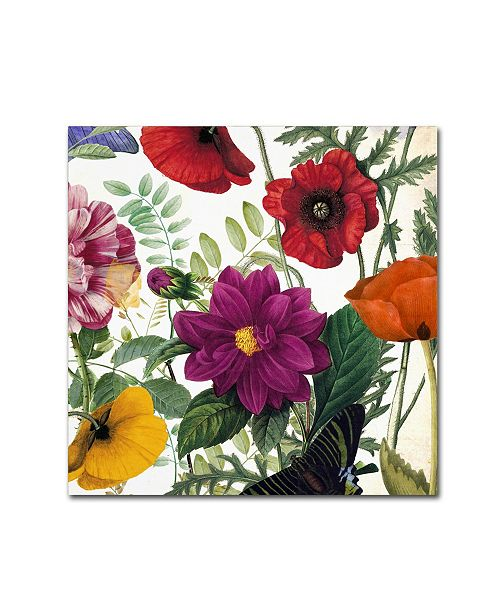 "Trademark Global Color Bakery 'Printemps III' Canvas Art - 35"" x 2"" x 35"""