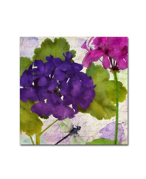 "Trademark Global Color Bakery 'Gaia I' Canvas Art - 18"" x 2"" x 18"""