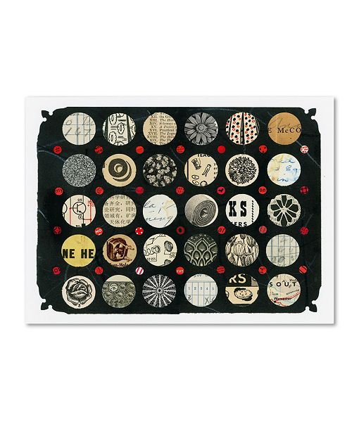 """Trademark Global Colin Johnson 'Cycles Number Two' Canvas Art - 32"""" x 24"""" x 2"""""""