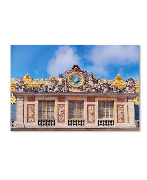 "Trademark Global Cora Niele 'Palace Of Versailles II' Canvas Art - 19"" x 12"" x 2"""