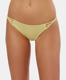 O'Neill Salt Water Side-Strap Bikini Bottom, Created For Macy's